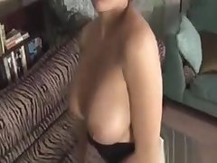 Homemade Handjob Fun With A Classy Housewife